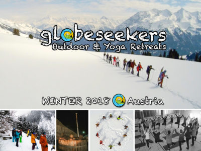 globeseekers Snow, Outdoor und Yoga Retreats, Winter 2018, Österreich